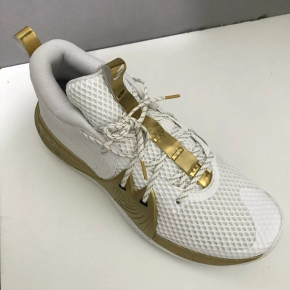 Under Armour Embid 1 UA Gold Mind White Sneakers